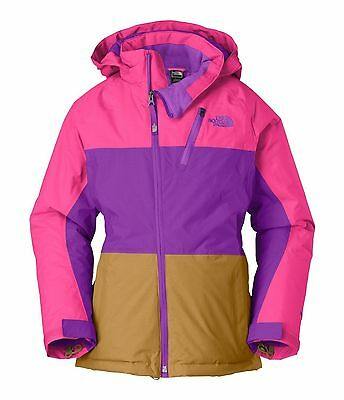 e669a58d8 THE NORTH FACE Insulated Kizamm Jacket/winter Coat Girls Large L 14-16  Women Xs