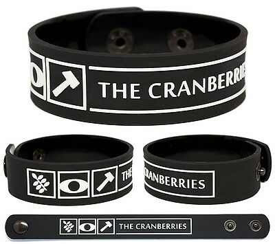 THE CRANBERRIES Rubber Bracelet Wristband No Need to Argue