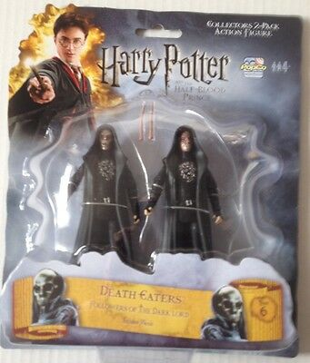 """Popco Harry Potter Action Figures 3.75"""" 2 DEATH EATERS Twin Pack"""
