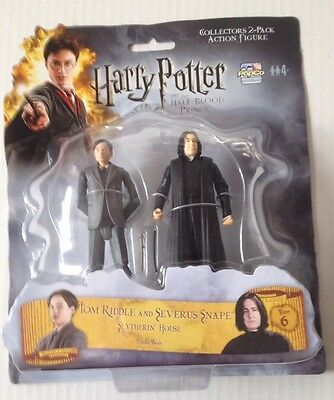 Popco Harry Potter Action Figures 33/4 Inch Of TOM RIDDEL & SNAPE Twin Pack