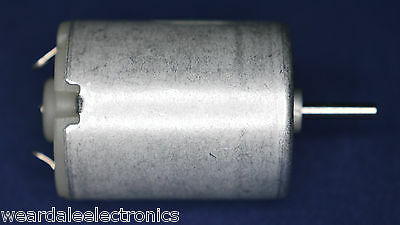 VELLEMAN MOT2N DC MOTOR 2.5 - 6VDC 14500 RPM 45x23.8mm PACK OF 1 MOTOR