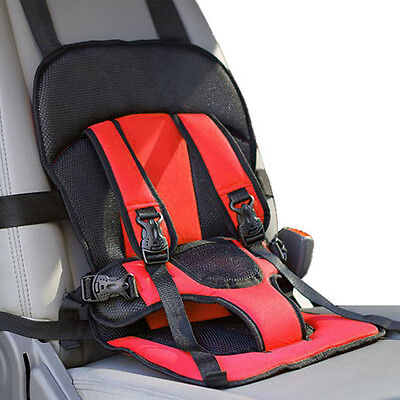 1x Adjustable Portable Baby Child Infant Car Seat Safety Belt Harness