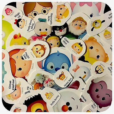 Disney Tsum Tsum Variety Sizes Stickers 30 Pieces Lot Scrapbook Party Favors