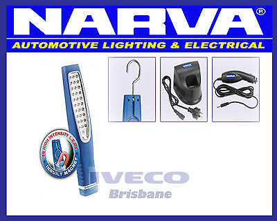 New NARVA LED Rechargable Inspection Work Light SEE EZY L-ION BATTERY 71320