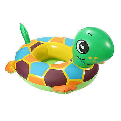 Tortoise Inflatable Swimming Ring Pool Raft Chair Seat Float For Baby Child