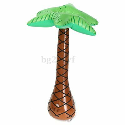 27'' Inflatable Blow Up Palm Tree Toy Hawaiian Beach Party Decor Toy Xmas Gift