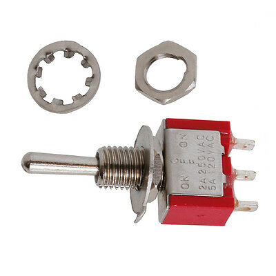 1/2/5/10pcs SPDT MTS-103 3Pin ON-OFF-ON 3 Position Mini Toggle Switch AC250V 5A