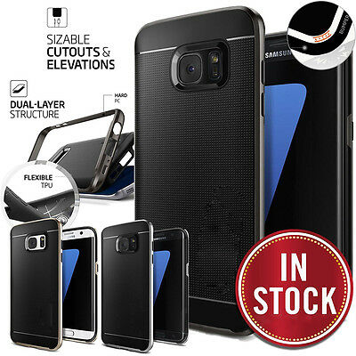 Luxury Thin Shockproof Protective Hard Case Cover For Samsung Galaxy S7 Edge S8+