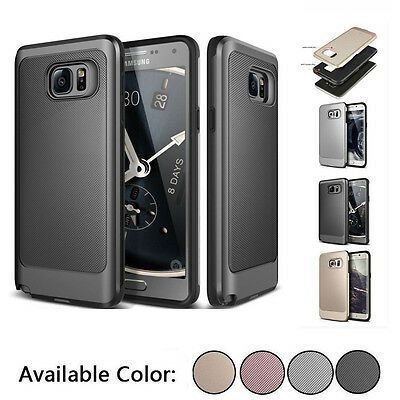 For Samsung Galaxy S6 S7 Edge S8 Plus Ultra Thin Shockproof Hard Case Cover AU