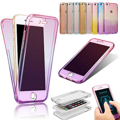Luxury Shockproof 360 Full Silicone Case Cover Skin For Apple iPhone 6 6s 7 Plus