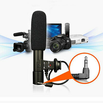 New Professional Video Studio Shotgun Recording Microphone for Nikon DSLR Camera