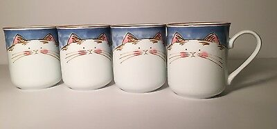 Takahashi Cat Cups (set of 4)