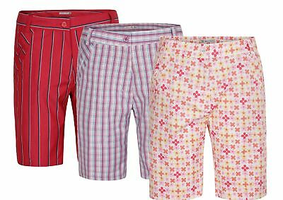 55% OFF New Green Lamb Tessa Patterned Shorts Ladies Womens Golf Short Trousers