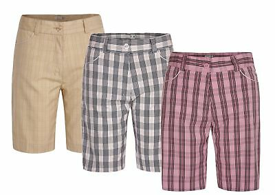 45% OFF New Green Lamb Check Bermuda Shorts Ladies Womens Golf