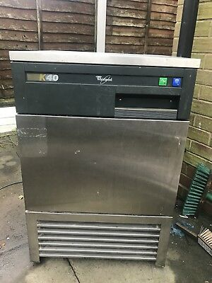 Whirlpool K40 Ice Machine /pub, Restaurant Ice maker, 40kg Production