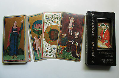 Visconti Sforza Tarot Deck 78 Cards 15th Century 1975 reprint U.S. Games MINT