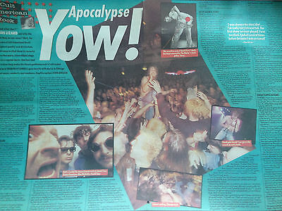 "JESUS LIZARD # FLY ON THE WALL INTERVIEW # ORIGINAL ARTICLE 1993 # 16""x 22"""