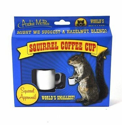 Squirrel Coffee Cup World's Smallest Rodent Mug