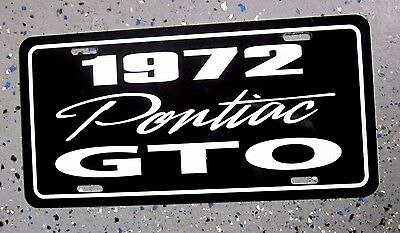 1968 pontiac gto license plate car tag 68 wide track goat royal bobcat tiger picclick. Black Bedroom Furniture Sets. Home Design Ideas