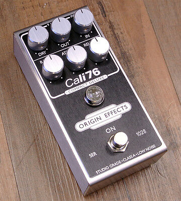 NEW! Origin Effects Cali76 Compact Deluxe Compressor - Limited Blackface Finish