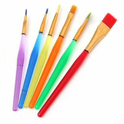 6X Home Icing Cake Decorating Painting Brush Fondant Sugarcraft DIY Making Tool