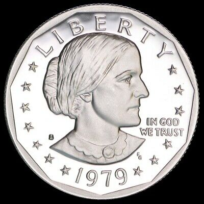"""1979-S Susan B Anthony Dollar US Mint """"Uncirculated"""" Coin SBA"""