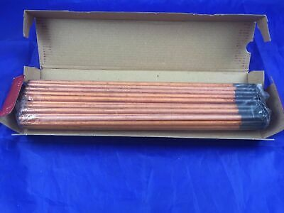 "Arcair 22-043-003A Copperclad Pointed Electrode DC 1/4"" x 12"" 6 x 305mm 50Pk"