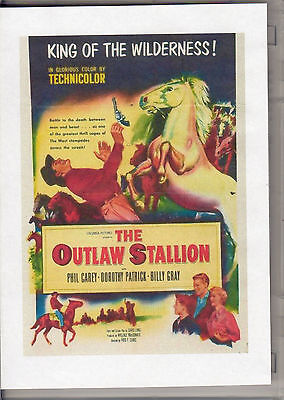 Outlaw Stallion, The -  King Of The Wilderness All Region Dvd *