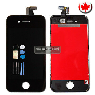 CA LCD Touch Screen Digitizer Assembly Display for iPhone 4S Black with Tool Kit