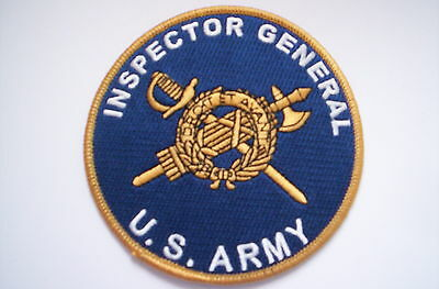 Aufnäher  INSPECTOR GENERAL  US ARMY  ca 10 cm