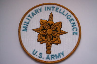 Aufnäher  MILITARY INTELLIGENCE US ARMY  ca 10 cm