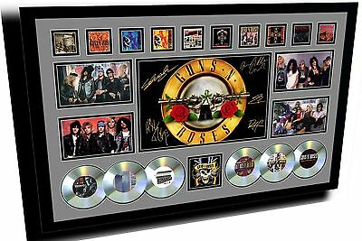 New Guns N Roses Axel Rose Signed Limited Edition Framed Memorabilia