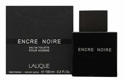 Lalique Encre Noire Eau De Toilette Edt 100Ml Spray - Men's For Him. New