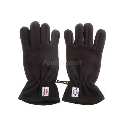 3 Colors Skidproof Gloves Fleece Full Fingers Touch Screen Gloves S/M/L