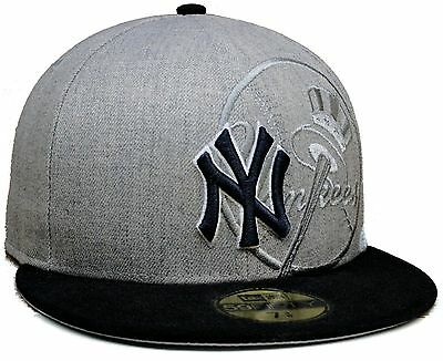18a8be99 NEW YORK YANKEES MLB New Era Strokes 59Fifty Fitted Flat Bill Hat ...