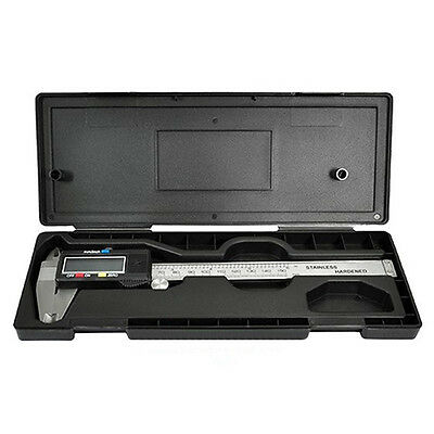 6Inch/150mm LCD Digital Vernier Caliper Stainless Steel Micrometer Dainty