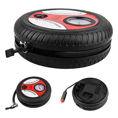260 PSI Motors Automotive Car Pump Portable Tire Inflator Air Compressor Dainty