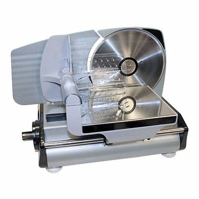 Countertop Electric Fruit Meat Vegetables Cheese Slicer Food Commercial Deli NEW