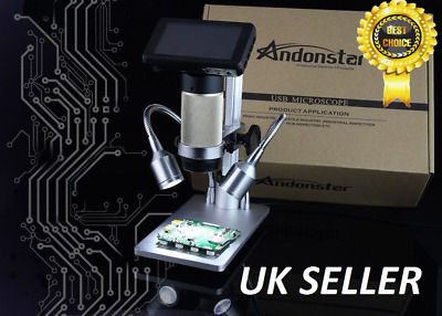 Andonstar Digital Microscope Long Working Distance PCB Soldering Repair SMT