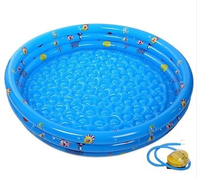 New SUMMER SEA SWIMMING Inflatable POOL for Kids Children's Baby toys with Pump