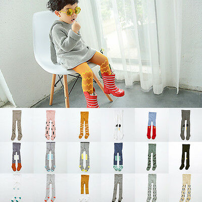 Lovely Soft Baby Toddler Kids Girls Boys Tights Pantyhose Pants Trousers