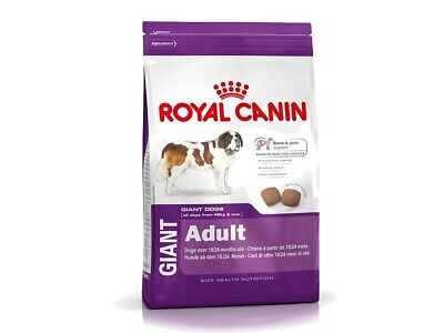 Alimento per Cani Giant Adult 15kg con 4kg omaggio Royal Canin