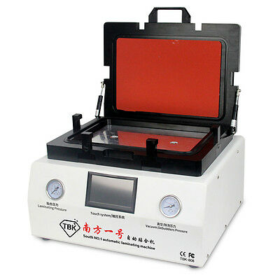 LCD Touch Screen Vacuum OCA Laminating Machine TBK-808 Pressing Force Uniform