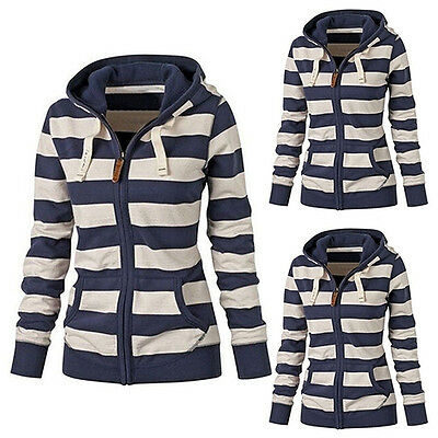 Women's Fashion Casual Hooded Sweatshirt Pullover Hoodie Coat Outerwear Ideal