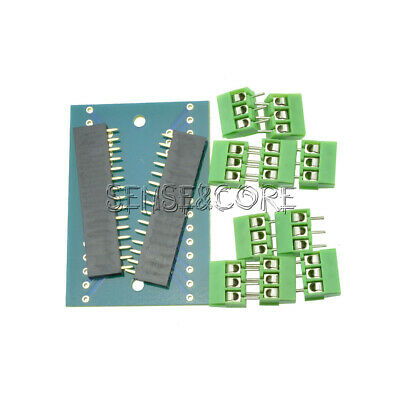 Expansion Board Terminal Adapter DIY Kits for Arduino NANO IO Shield V1.0 C2