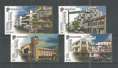 Singapore 2012 Historical Significance Sg,2070-2073 U/mm Nh Lot 737A