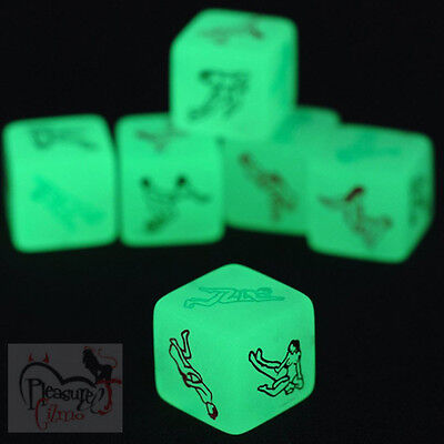 Kama Sutra Glow in the Dark Love Sex Dice Erotic Novelty Fun Adult Game Hen Stag