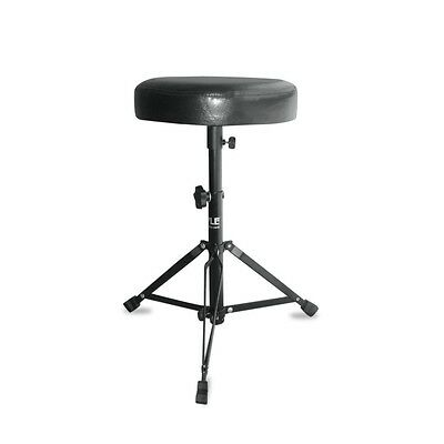 """24"""" Pyle Folding Padded Drum Throne Guitar Stool Seat Chair Portable Adjustable"""