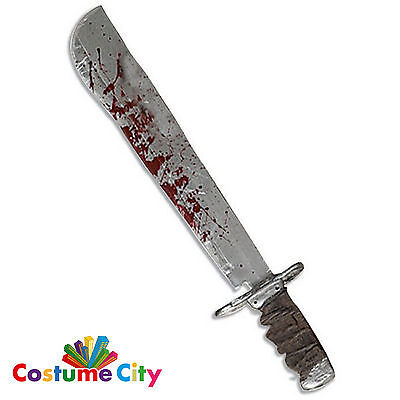 Official Deluxe Jason Friday the 13th Machete Halloween Fancy Dress Accessory