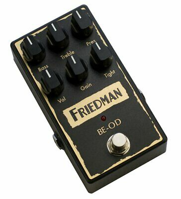 NEW! Friedman Amps BE-OD Overdrive - Authentic British Overdrive Tones